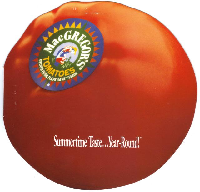 Tomato brochure Summertime Taste...Year-Round!